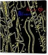 Kansas City Music  Canvas Print