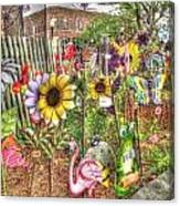 Kansas Flower Market Usa Canvas Print