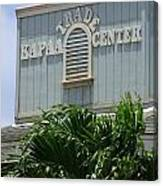 Kapaa Trade Center Canvas Print