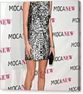 Kate Bosworth Wearing A Proenza Canvas Print