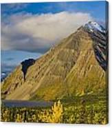 Kathleen Lake, Kluane National Park Canvas Print