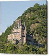 Katz Castle On A Hillside Canvas Print