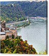 Katz Castle Canvas Print