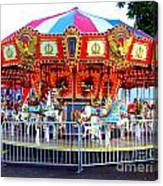 Kauai Carousel At Dusk Canvas Print