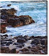 Kauai Rocks Canvas Print