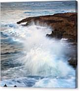 Kauai Sea Explosion Canvas Print