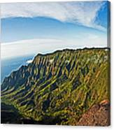 Kaulalu Panorama Canvas Print
