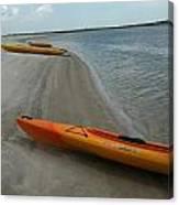 Kayak Canvas Print