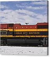 Kcs Locomotive Canvas Print