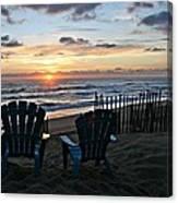 Kdh Sunrise Canvas Print