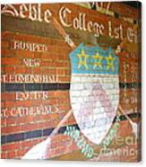 Keble College 2007 Rowing Standings Canvas Print