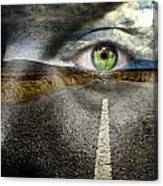 Keep Your Eyes On The Road Canvas Print