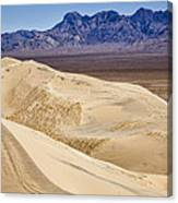 Kelso Sand Dunes 2 Canvas Print