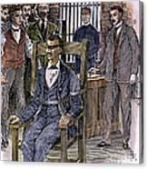 Kemmler Execution Canvas Print