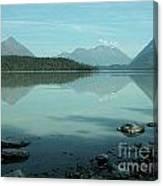 Kenai Lake Reflections Canvas Print