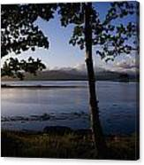 Kenmare Bay, Ring Of Kerry In Bg, Co Canvas Print