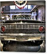 Kennedy Limo Canvas Print