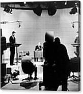 Kennedy/nixon Debate, 1960 Canvas Print