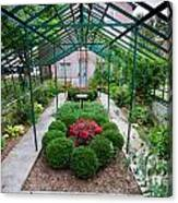 Kentlands Greenhouse Canvas Print