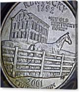 Kentucky 2001 Canvas Print