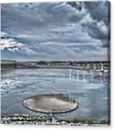 Kentucky Dam Dusk Canvas Print