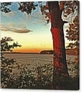 Kentucky Lake Sunrise Canvas Print