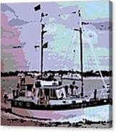 Ketch Canvas Print