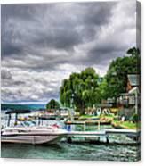 Keuka Lake Shoreline Canvas Print