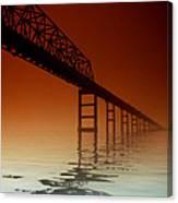 Key Bridge Canvas Print