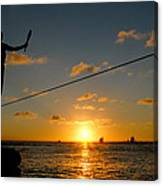 Key West Sunset Performance Canvas Print