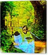 Keystone Bridge Canvas Print