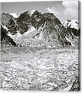 Khumbu Glacier Canvas Print