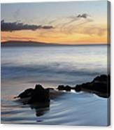 Kihei Maui Sunset Canvas Print