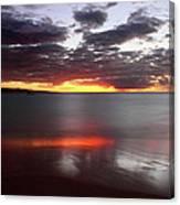 Kihei Silvery Sunset Canvas Print