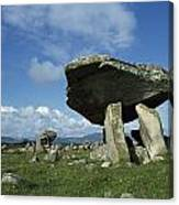 Kilclooney, Co Donegal, Ireland Dolmen Canvas Print