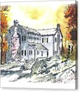 Kilgore Lewis Home Canvas Print