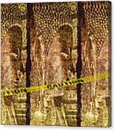 Kill The Buddha Canvas Print