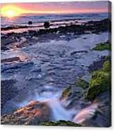 Killala Bay, Co Sligo, Ireland Sunset Canvas Print