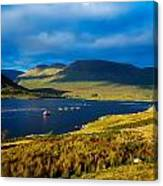 Killary Harbour, Co Galway, Ireland Canvas Print