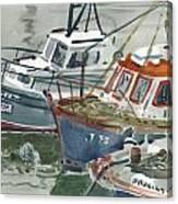Kilmore Boats Canvas Print