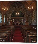 Kilmore Church Dervaig Canvas Print