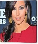 Kim Kardashian At Arrivals For 2011 Canvas Print