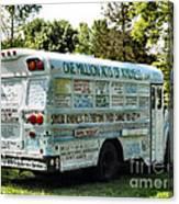 Kindness Bus 2 Canvas Print