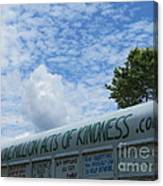 Kindness Bus 7 Canvas Print