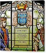 King Alfonso Vi ... Canvas Print