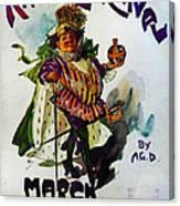 King Carnaval March - Mardi Gras Canvas Print