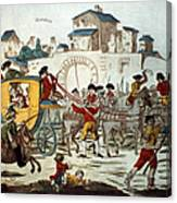 King Louis Xvi: Arrest Canvas Print