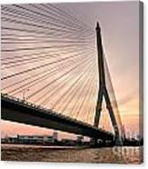 King Rama Bridge Bangkok Canvas Print