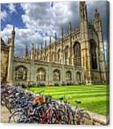 Kings College Cambridge Canvas Print