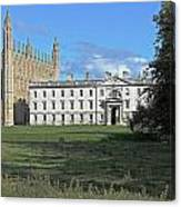 Kings College Chapel And The Gibbs Building Canvas Print